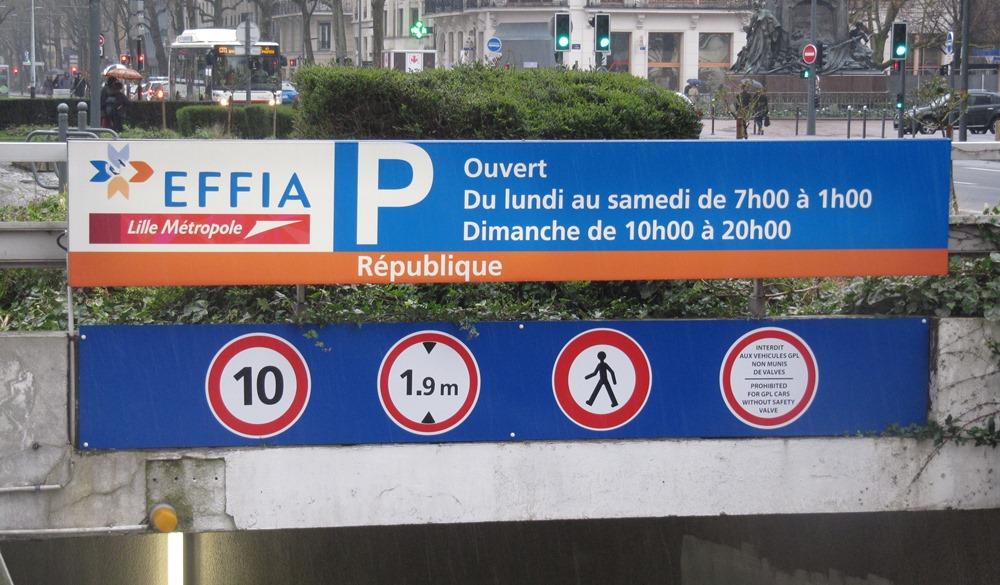 Stationnement Place Sebastopol Philatelie Lille 2014